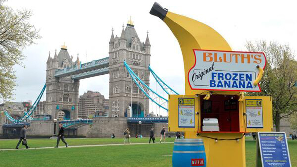 Bluth Banana Stand in London