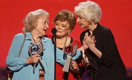 Bea Arthur, Betty White and Rue McClanahan