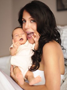Bethenny Frankel and baby