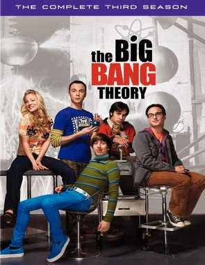 The Big Bang Theory Season 3 DVD