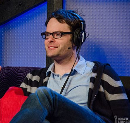 Bill Hader on Howard Stern's radio show