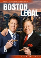 Boston Legal Season 5 DVD