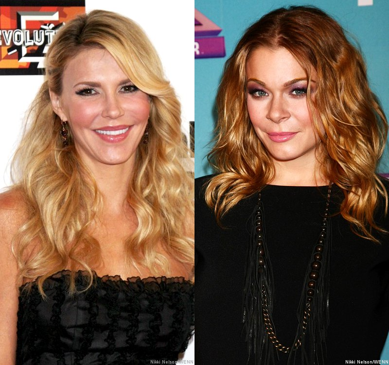 Brandi Glanville and LeAnn Rimes