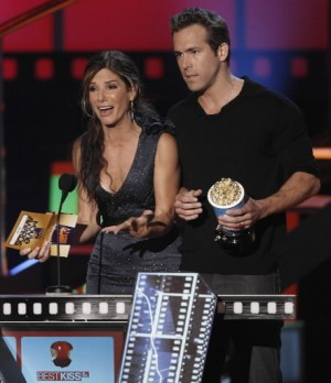 Sandra Bullock and Ryan Reynolds at 2009 MTV Movie Awards