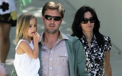 Courteney Cox and Family