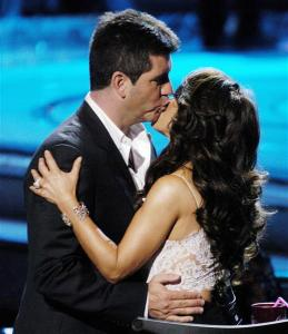 American Idol: Simon Cowell and Paula Abdul