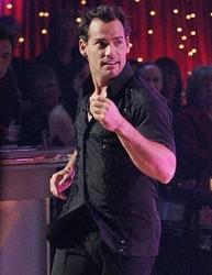 Cristian de la Fuente on Dancing with the Stars