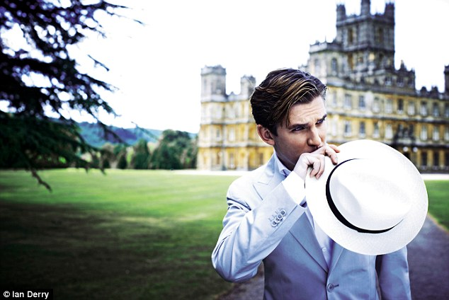 Dan Stevens on 'Downton Abbey' as Matthew Crawley