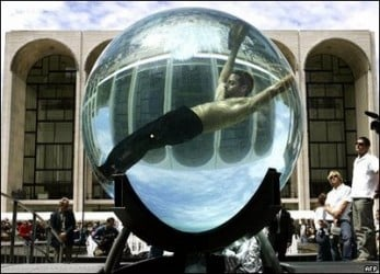 David Blaine in Sphere