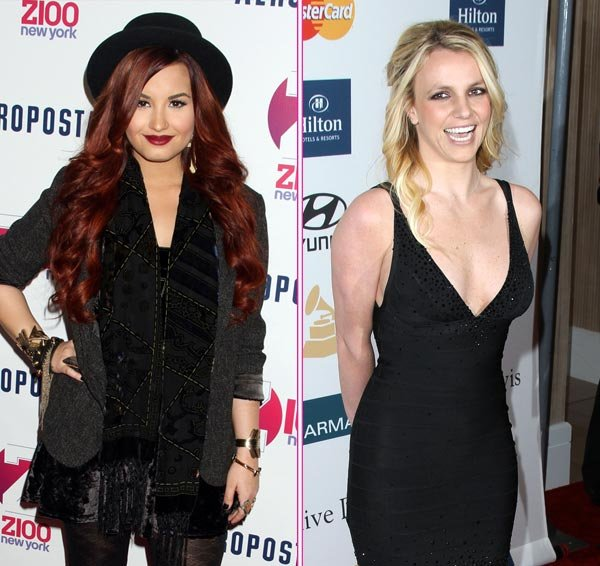 Demi Lovato and Britney Spears
