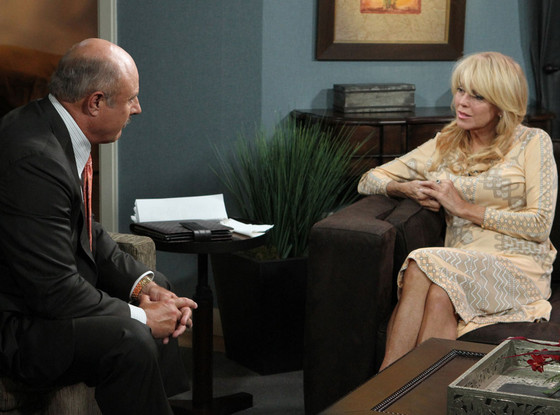 Dr. Phil and Dina Lohan
