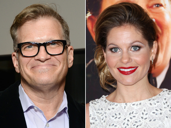 Drew Carey and Candace Cameron Bure
