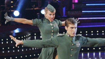 Cody Linley and Julianne Hough on Dancing with the Stars