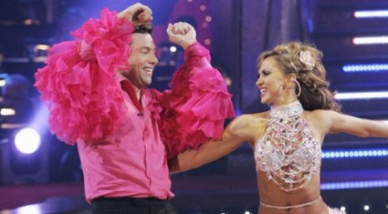 Rocco DiSpirito and Karina Smirnoff on Dancing with the Stars