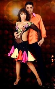 Cheryl Burke and Gilles Marini