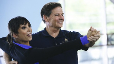 Dancing with the Stars' Cheryl Burke and Tom DeLay