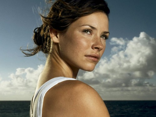 Evangeline Lilly as Kate Austen on Lost