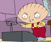 ... dictator-to-be baby, the animated Stewie of Family Guy.