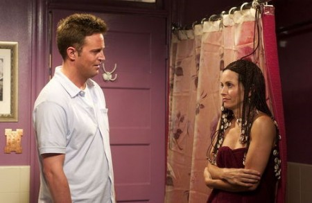 Monica and Chandler in Friends