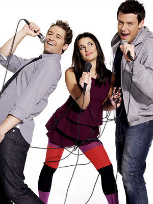 Matthew Morrison, Lea Michele, and Cory Monteith