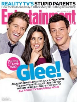 Glee cover - Entertainment Weekly