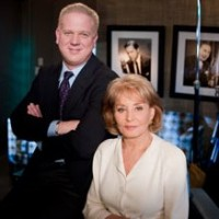 Glenn Beck and Barbara Walters
