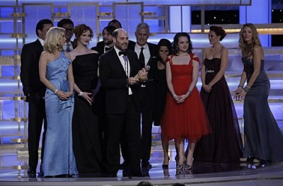 Cast of Mad Men at the 2009 Golden Globes