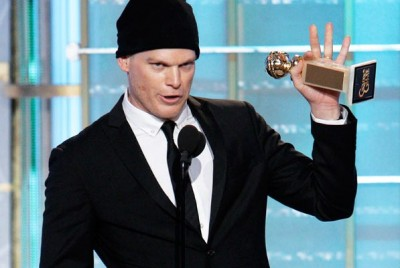 Michael C. Hall at the Golden Globes
