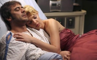 Izzie and Denny on Grey's Anatomy