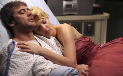 Izzie and Denny on Grey's Anatomy