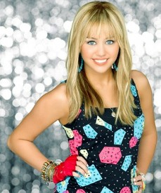 Miley Cyrus as Hannah Montana