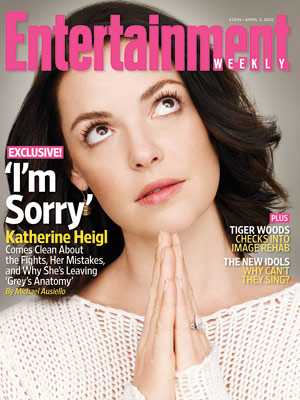 Katherine Heigl on Entertainment Weekly cover