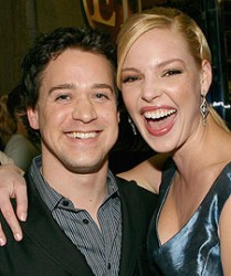 T.R. Knight and Katherine Heigl