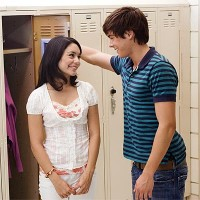 High School Musical, Zac Efron, Vanessa Hudgens