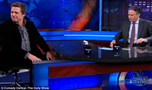 Hugh Grant on 'The Daily Show'