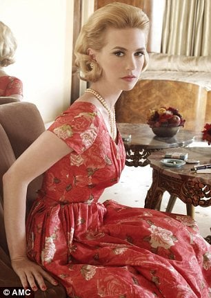 January Jones as Betty Draper