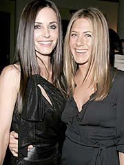 Jennifer Aniston and Courtney Cox Arquette
