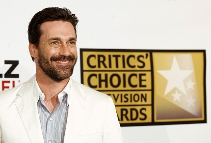 John Hamm at Critics' Choice Television Awards
