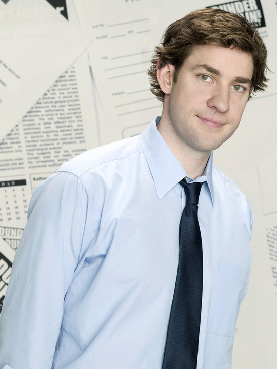 John Krasinski as Jim on 'The Office'