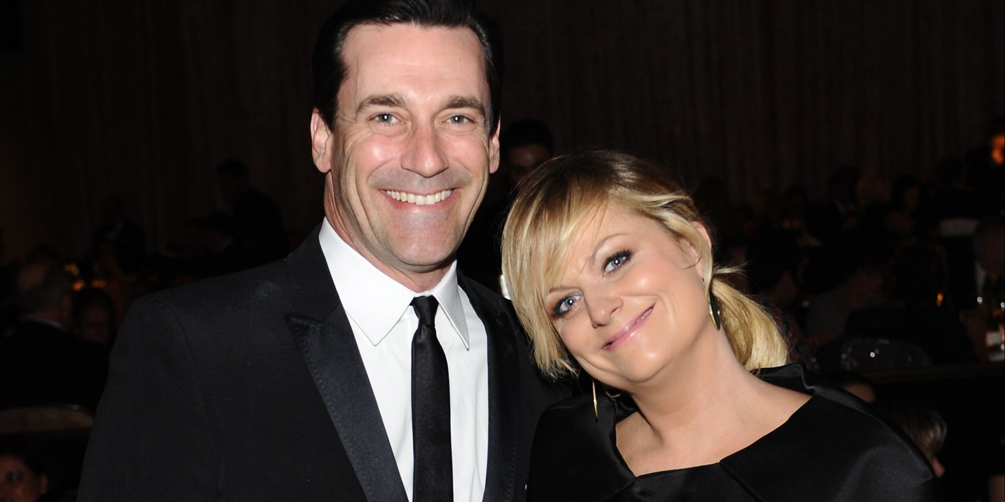 Jon Hamm and Amy Poehler