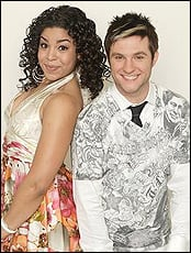 Blake Lewis, pictured here with Jordin Sparks
