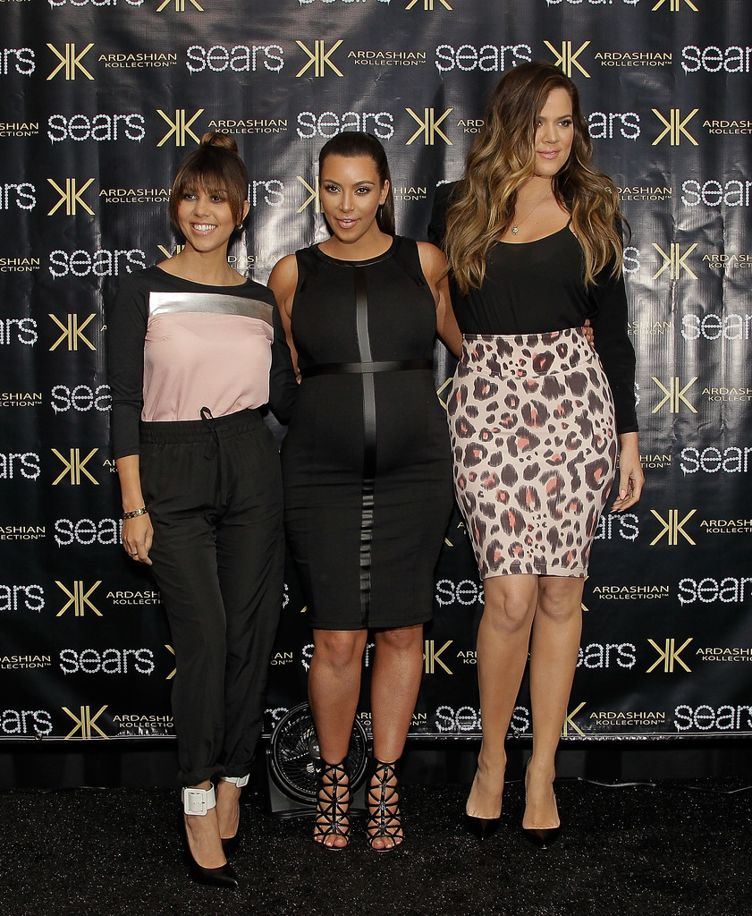 Kourtney Kardashian, Kim Kardashian, and Khloe Kardashian