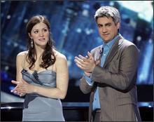 Katharine McPhee and Taylor Hicks