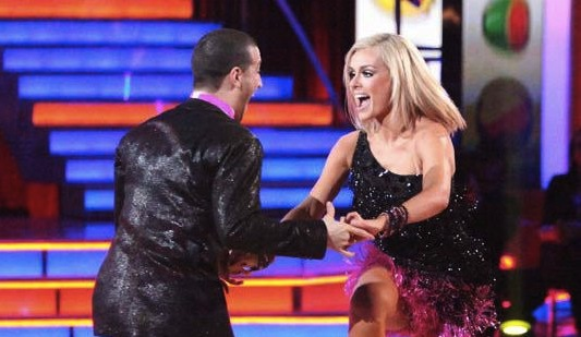 Katherine Jenkins on Dancing with the Stars