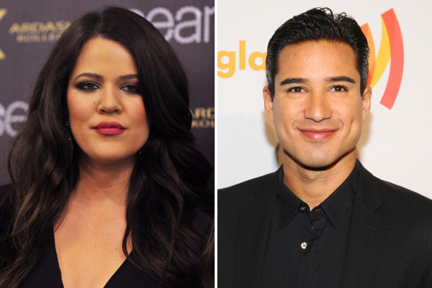 Khloe Kardashian and Mario Lopez