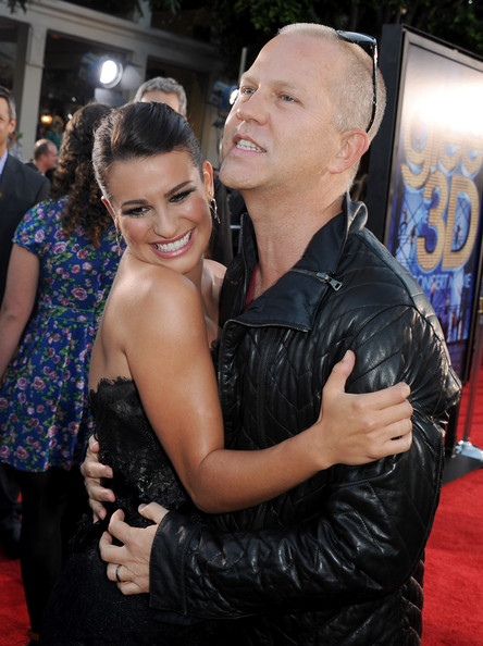 Lea Michele and Ryan Murphy