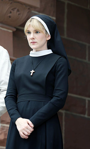 Lily Rabe as Sister Mary Eunice