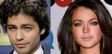 Lindsay Lohan and Adrian Grenier