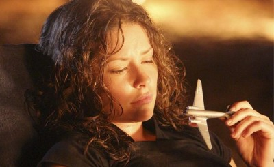 Kate in Lost with toy plane