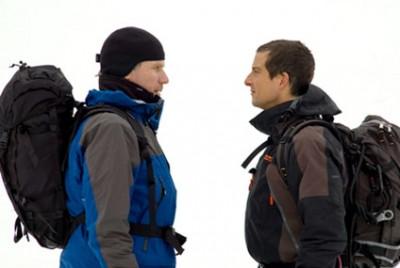 Will Ferrell and Bear Grylls on Man vs. Wild